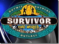 survivor one world logo